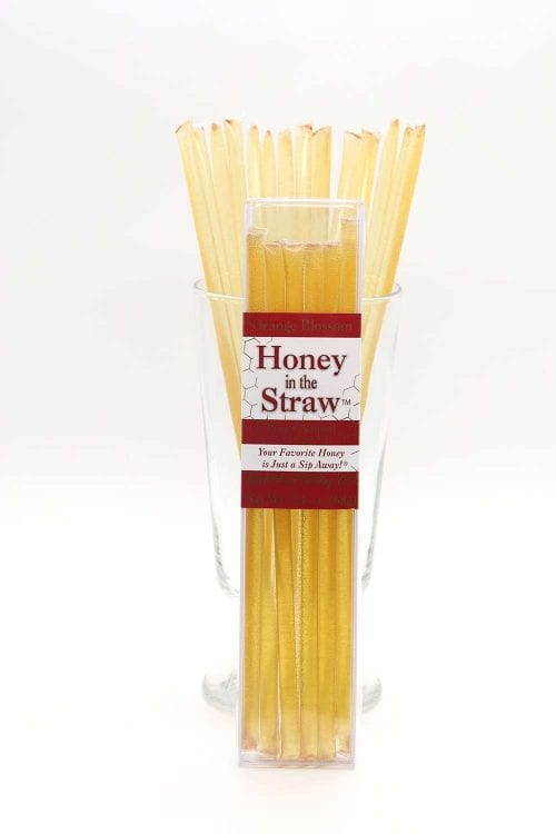 Orange Blossom 12 pack Honey in the Straw by Moon Shine Trading Company