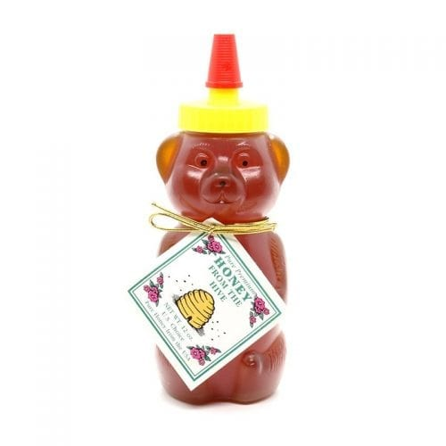 Favorite Bear Squeeze Jar of Honey from Z Specialty Food
