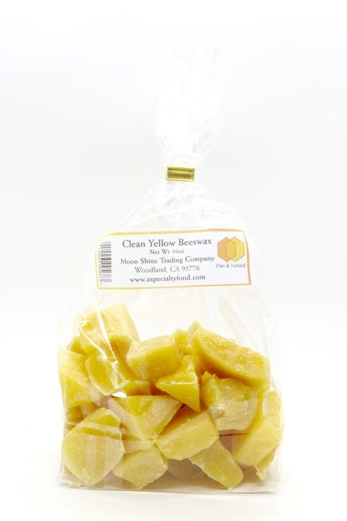 Chunks of Pure All Natural Yellow Beeswax from Z Specialty Food