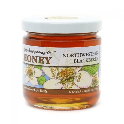 Moon Shine Trading Co Gourmet Varietal Honey: Northwestern Blackberry Honey