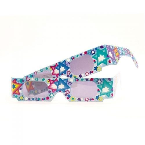 Perfect Gift: Star of David Holographic glasses