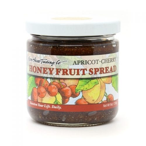 Award Winning California Honey Apricot Cherry Fruit Spread