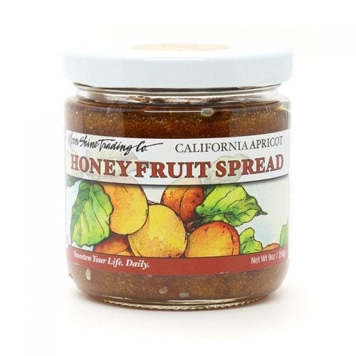 Award Winning California Honey Apricot Fruit Spread from Moon Shine Trading Co.