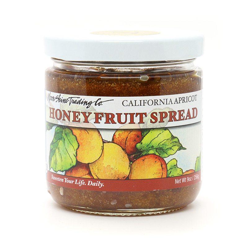 Award Winning California Honey Apricot Fruit Spread from Moon Shine Trading Co.
