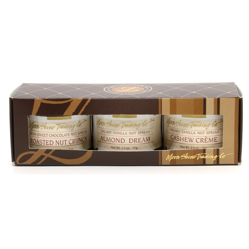 Chocolate Nut Spread 3 jar gift pack