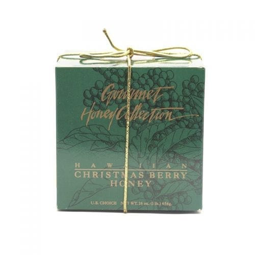 Gourmet Honey Collection Gift Box of Christmas Berry Honey from Z Specialty Food
