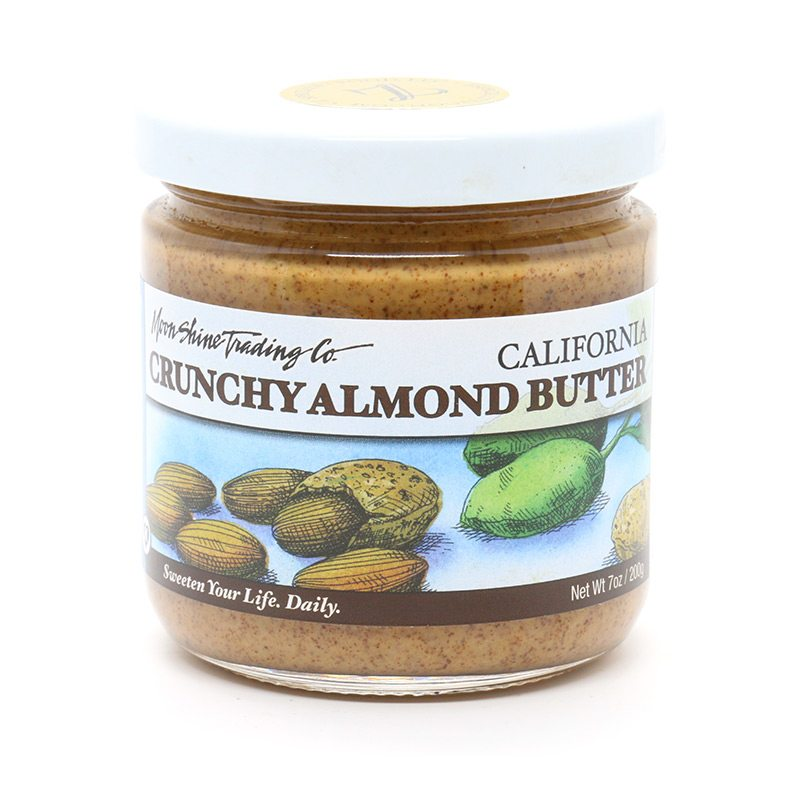 Moon Shine Trading Company California Roasted Almond Butter: Crunchy
