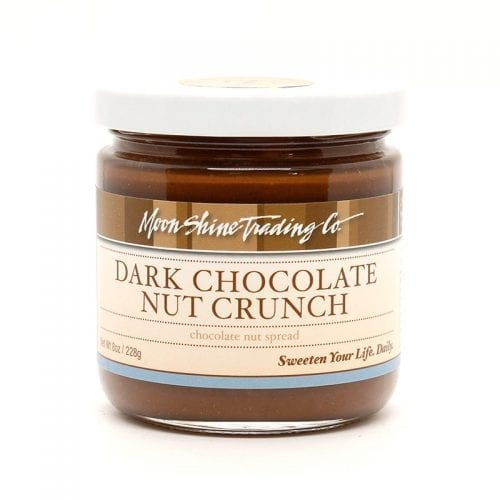 Moon Shine Trading Company Nut Spread: dark-chocolate-nut crunch