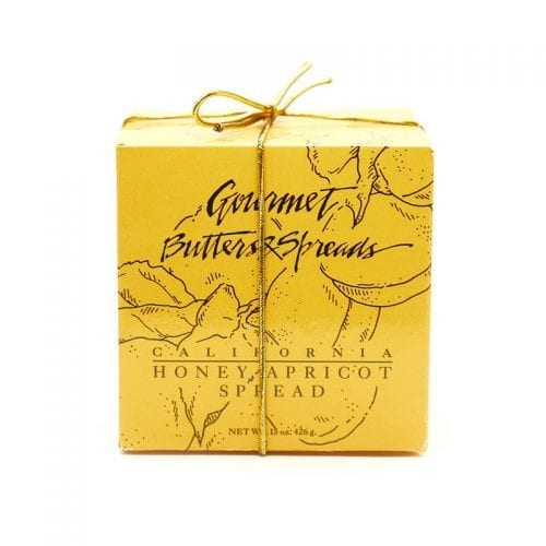 Gourmet Butter & Spread Gift Box of Honey Apricot Spread