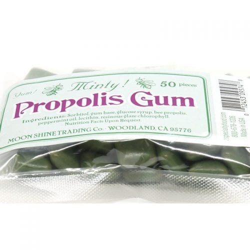 Refreshing and Minty Propolis Gum from Moon Shine Trading Co