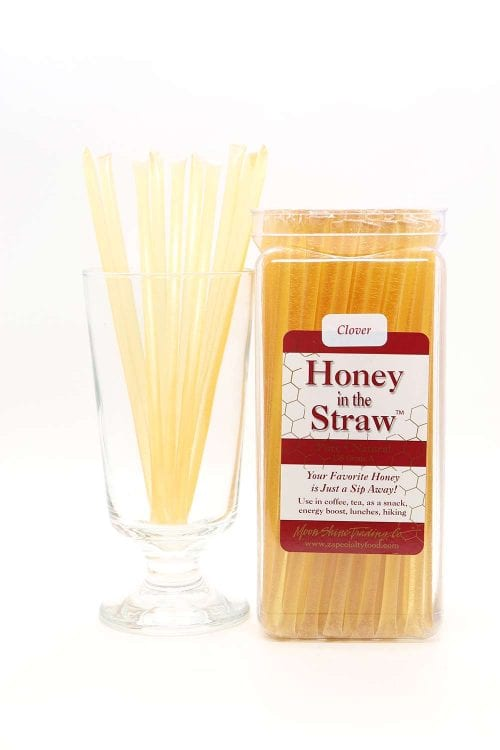 Clover Blossom Honey in the Straw by Moon Shine Trading Company