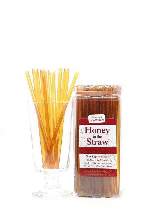 Hawaiian Wildflower Honey in the Straw by Moonshine Trading Company