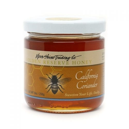 Moon Shine Trading Co Gourmet Reserve Varietal Honey: California Coriander