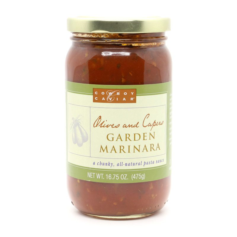 Pasta Sauce Fresh Vegetable Marinara Cowboy Caviar