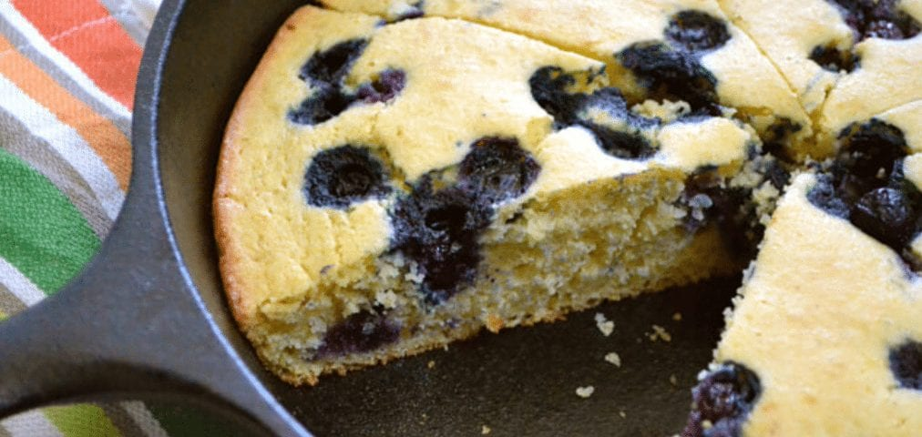 Recipe for Blueberry Honey Cornbread from Z Specialty Food