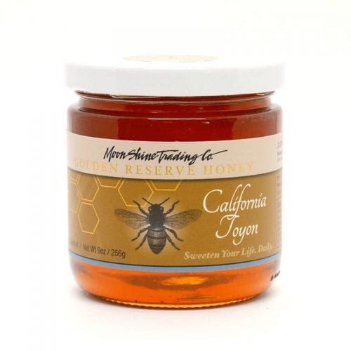 California Toyon Golden Reserve Honey from Moon Shine Trading Company