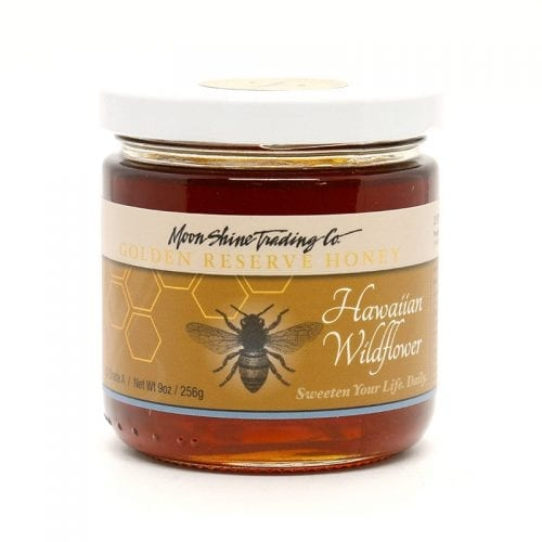 Hawaiian Wildflower Golden Reserve Varietal Honey from Moon Shine Trading Company